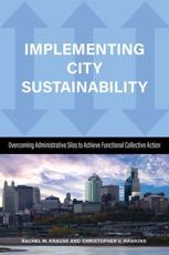 Implementing City Sustainability