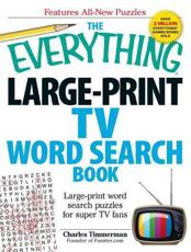 The Everything Large-Print TV Word Search Book
