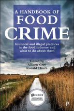 A Handbook of Food Crime