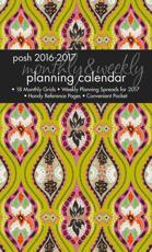POSH INDIGO EYE 20162017 MONTHLYWEEKLY P