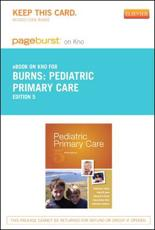 Pediatric Primary Care - Elsevier E-Book on Intel Education Study