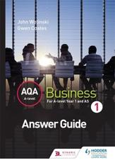ISBN: 9781471836107 - AQA A Level Business 1 (Wolinski & Coates) Answers