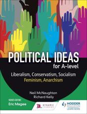 Political Ideas for A Level. Liberalism, Conservatism, Socialism, Feminism, Anarchism