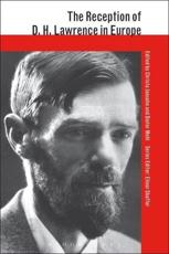 The Reception of D.H. Lawrence in Europe