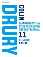 Management and Cost Accounting. Student's Book