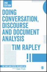 Doing Conversation, Discourse and Document Analysis