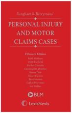 Bingham & Berrymans' Personal Injury and Motor Claims Cases