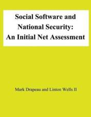 Social Software and National Security