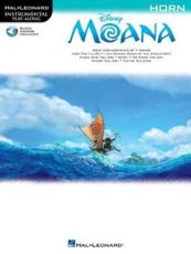 Instrumental Play-Along Moana French Horn Book/Audio Online