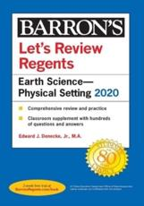 Let's Review Regents: Earth Science--Physical Setting 2020