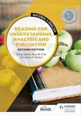 Reading for Understanding, Analysis and Evaluation