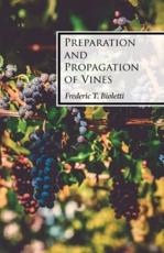 Preparation and Propagation of Vines