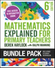 Haylock: Mathematics Explained for Primary Teachers 6E + Student Workbook Bundle