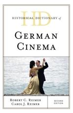 Historical Dictionary of German Cinema