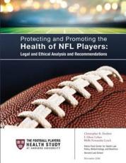 Protecting and Promoting the Health of NFL Players