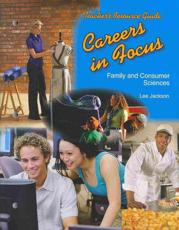 Careers in Focus Teacher's Resource Guide