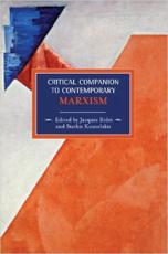 Critical Companion to Contemporary Marxism