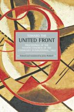 Toward the United Front