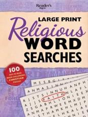 Reader's Digest Large Print Religious Word Search