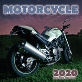 Motorcycle 2020 Mini Wall Calendar