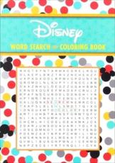 Disney Word Search and Coloring Book