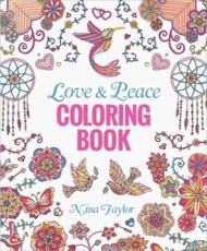 Love & Peace Coloring Book