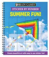 Brain Games - Sticker by Number: Summer Fun! (Square Stickers)