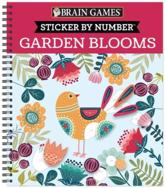 Brain Games - Sticker by Number: Garden Blooms