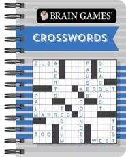 Brain Games Mini - Crosswords (Blue)