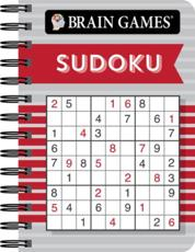 Brain Games Mini - Sudoku (Red)