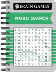 Brain Games Mini - Word Search (Green)