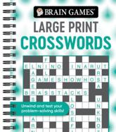 Brain Games - Large Print Crosswords (Swirls)