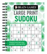 Brain Games - Large Print Sudoku (Swirls)