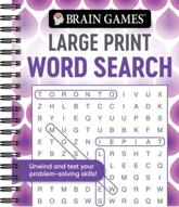 Brain Games - Large Print Word Search (Swirls)