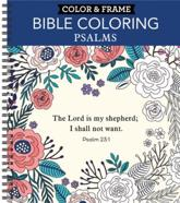 Color & Frame - Bible Coloring: Psalms (Adult Coloring Book)