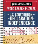Brain Games - Word Search Puzzles: The U.S. Constitution and the Declaration of Independence