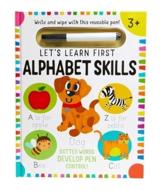 Let's Learn: First Alphabet Skills (Write and Wipe)