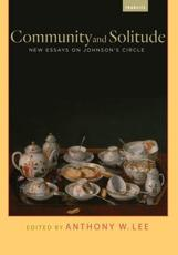 Community and Solitude