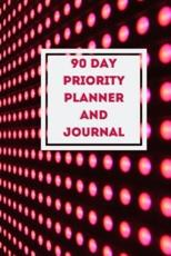 90 Day Priority Planner and Journal