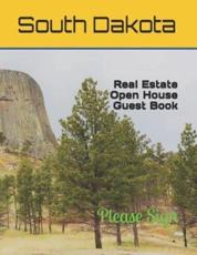 South Dakota Real Estate Open House Guest Book