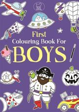 First Colouring Book For Boys