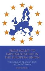 From Policy to Implementation in the European Union