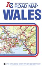 Wales A-Z Road Map