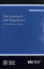 SRA Standards and Regulations