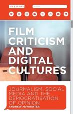 Film Criticism and Digital Cultures