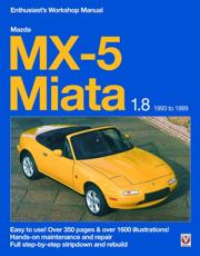 Mazda MX-5 Miata 1.8 Enthusiast's Workshop Manual