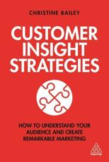 Customer Insight Strategies