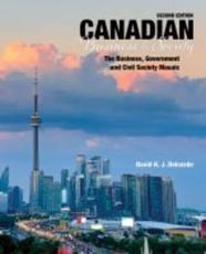 Canadian Business and Society - The Business, Government and Civil Society Mosaic