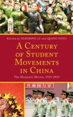 A Century of Student Movements in China