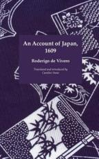 An Account of Japan, 1609
